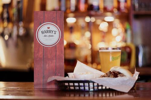 Harry's menu