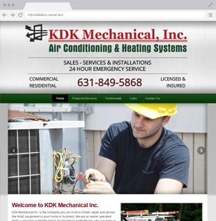 mechanic business website example