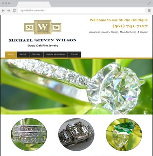 jewelry website example